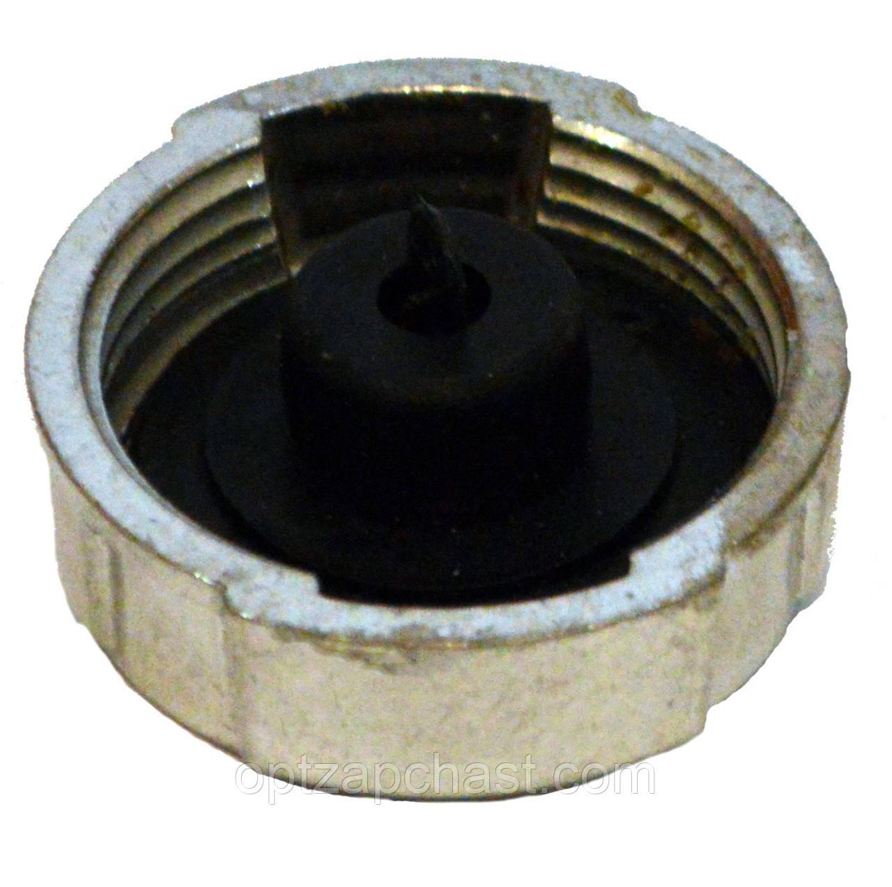Пробка (крышка) топливного бака  МТЗ н/о (алюминий) (082-1103010а) с КЛАПАНОМ !