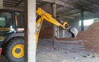 Демонтаж стен, слом. Демонтаж любой сложности.