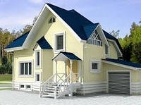 Канадские дома, дома из сип панелей