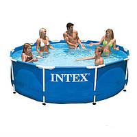 Каркасный бассейн Intex 28200. Сборный Metal Frame 305 x 76 см