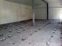 Шлифовка и обеспыливание бетонного пола.