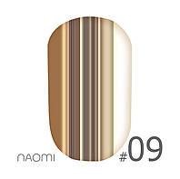 Зеркальная пудра Naomi Mirror powder №09 3 гр