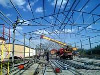 Строительство ангары, павильоны, каркасно-тентовые конструкции