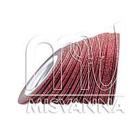 Сахарная лента-скотч для декора, 1 мм, красная