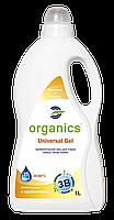 Бесфосфатный гель для стирки,Organics,Универсальный,1л