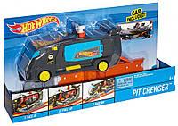 Hot Wheels City Pit Crewser Vehicle - автофургон питстоп
