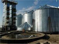 """Строительство зернохранилищ и элеваторов """"под ключ"""", объектов для хранения зерна"""