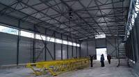 Строительство ангаров, складов промышленных и офисных помещений в Украине по каркасной технологии заказать