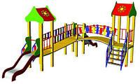 Детский игровой комплекс Городок БК-702Г