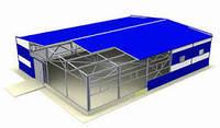 Строительство промышленных и сельскохозяйственных зданий: ангары, склады, цеха, зернохранилища, фермы, гаражи,