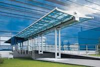 Металлоконструкции для строительства торговых центров, выставочных залов, производственных помещений
