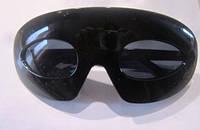 Очки черные Овальные широкая оправа