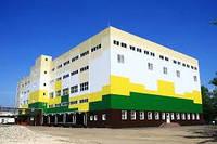 Строительство промышленных зданий и сооружений под ключ.