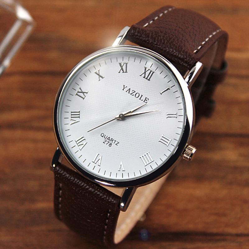 Мужские часы Yazole 278 белые