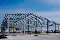 Строительство промышленных зданий, навесов и ангаров из металлических каркасов