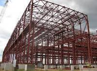 Возведение каркасных зданий из металлоконструкций