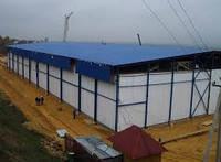 Строительство Металлокаркасных БМЗ (быстромонтируемые здания)
