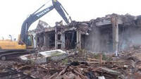 Демонтаж бетонных зданий в Днепре