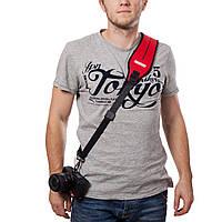 Плечевой ремень для  фотокамеры нашейный неопрен