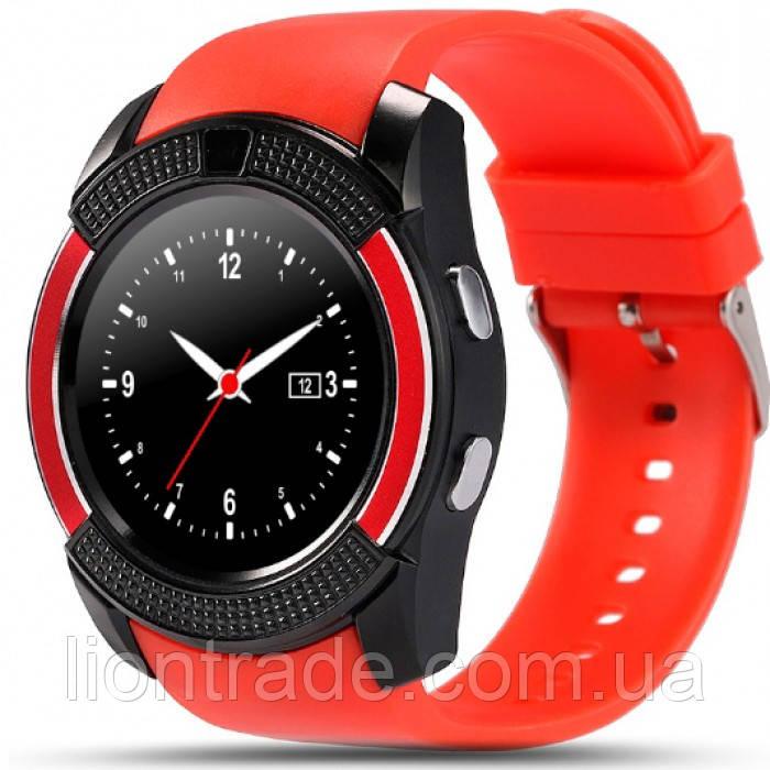 UWatch Умные часы Smart V8 Red