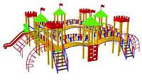 Детский игровой комплекс «Крепость» БК-710К