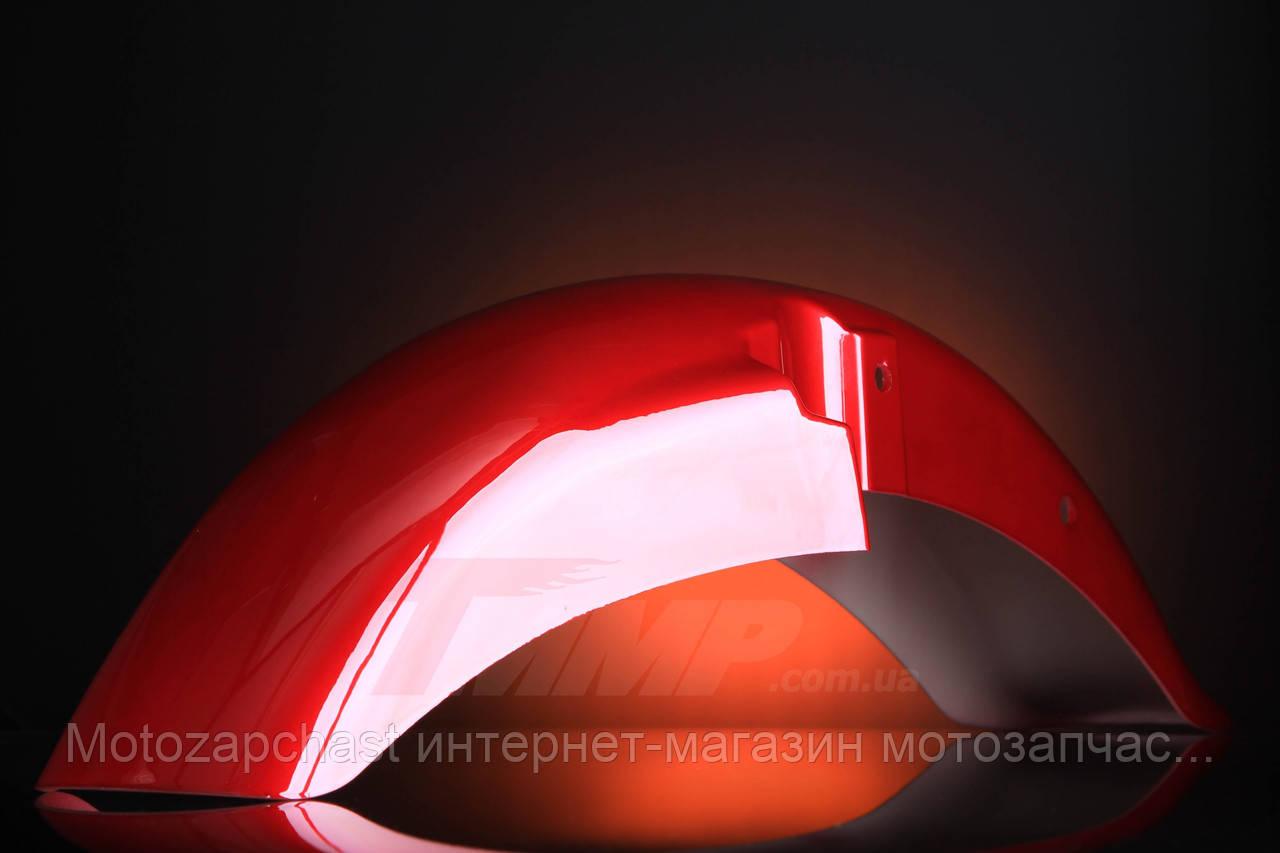 Крыло переднее красное Minsk-SONIK-125-150