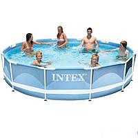Каркасный бассейн Intex 28710. Сборный Prism Frame 366 x 76 см
