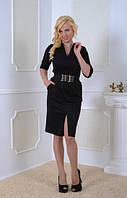 Женское платье Сара  красивое, элегантное, женственное  размер  44, 46, 48, 50, 52, 54, 56 черное