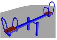 Качалка-балансир (металлическая) БК-711К