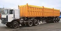 Переоборудование тягачей (монтаж гидравлического оборудования)