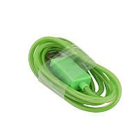 Светящийся USB кабель LED Light USB Cable microUSB (Зеленый)