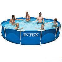 Каркасный бассейн Intex 28210. Сборный Metal Frame 366 x 76 см