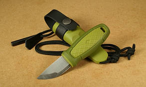 Нож morakniv (мора) Eldris Colour Mix 2.0 GREEN