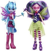 Кукла девушки эквестрии  Ариа Блейз и Соната Дак Sonata Dusk и Aria Equestria Girls Набор 2 куклы в упаковк