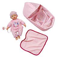 Кукла Baby Born беби бон  Zapf Creation пупс в люльке