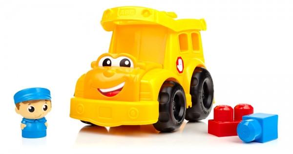 Конструктор Mega Bloks First Builders для детей ясельного возраста Школьный автобус мега блокс - Интернет магазин BuyPlace.com.ua в Днепре