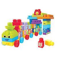 Детский Набор фигурок Mega Bloks Серия First Builders: Учимся играя мега блокс