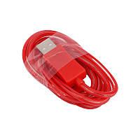 Светящийся USB кабель LED Light USB Cable microUSB (Красный)