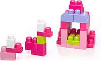Детская игра Конструктор Mega Bloks First Builders Розовый мега блокс