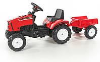 Трактор детский на педалях с Прицепом Lander Falk 2030AC