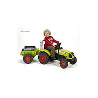 Трактор детский на педалях с прицепом и ковшом Rolly Toys 23134
