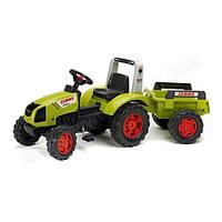 Трактор детский на педалях с прицепом 3-7 лет Claas Arion 430 Falk 1040B