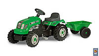Трактор детский на педалях с прицепом GM Bull Smoby 33329