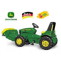 Уборочная Машина детская на педалях John Deere Rolly Toys 409716