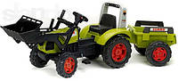 Трактор детский на педалях с Прицепом Claas Arion 430 Falk 1040AM