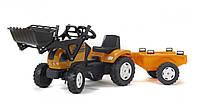 Детский Трактор Педальный с Прицепом Renault Falk 993M