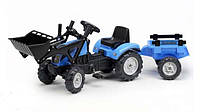 Детский Трактор педальный с прицепом Landini Falk 2050CM
