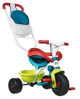 Велосипед детский трехколесный трансформер 3 в 1 с ручкой Smoby