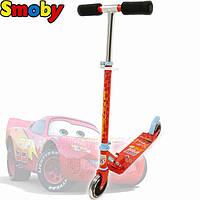 Самокат двухколесный детский Тачки Smoby