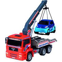 Детская игрушечная машинка Эвакуатор с воздушным насосом Dickie